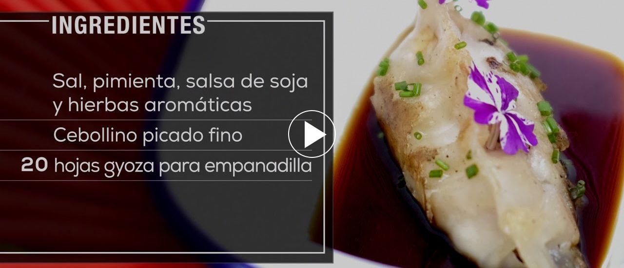 Embedded thumbnail for Gyozas de carrilera de cerdo Ibérico (Empanadillas al vapor asiáticas)