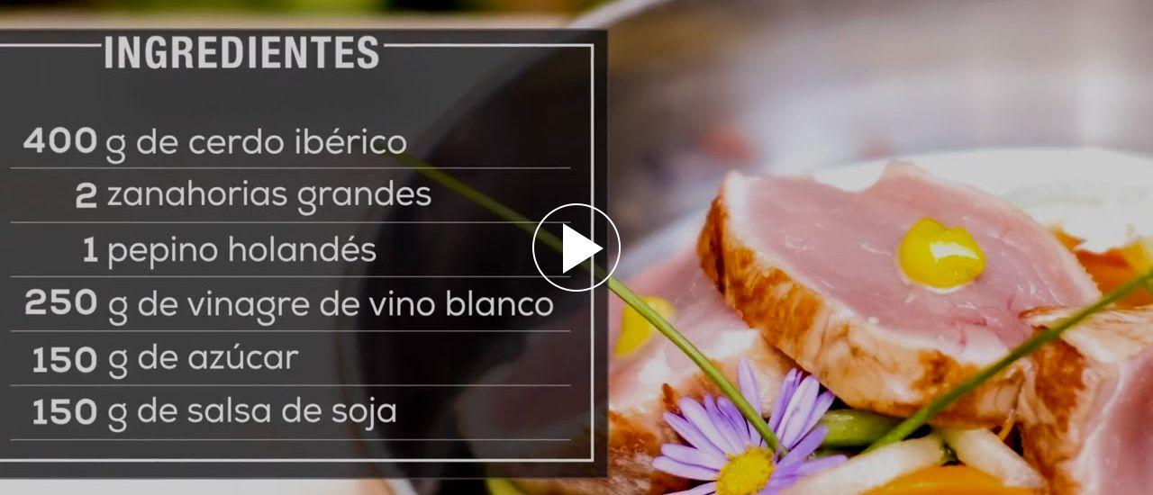Embedded thumbnail for Tataki de cerdo Ibérico con mayonesa de wasabi